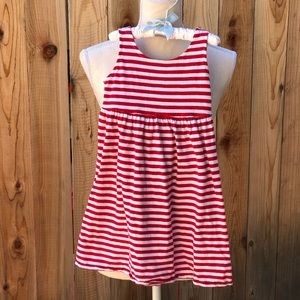 Adorable Red and White Sun Dress